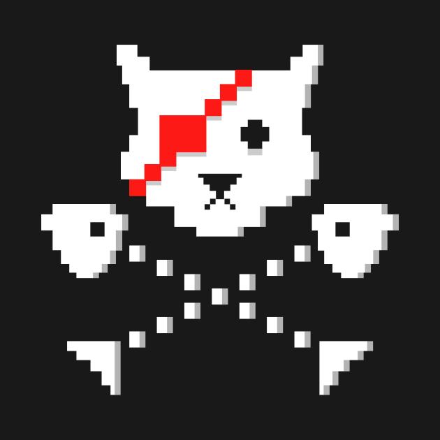Pixel Pirate Cat