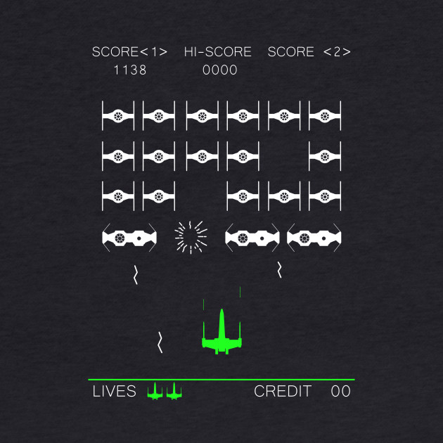 Space Invaders Mashup - Retro Shirt