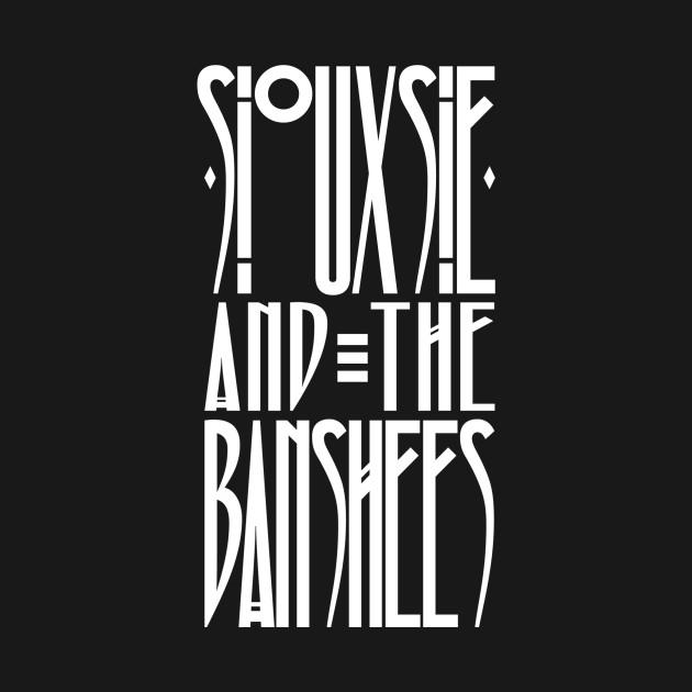Siouxsie and the Banshees Logo Shirt