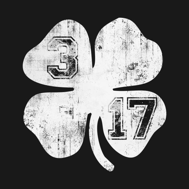 Vintage 3/17 St Patrick's Day Shamrock