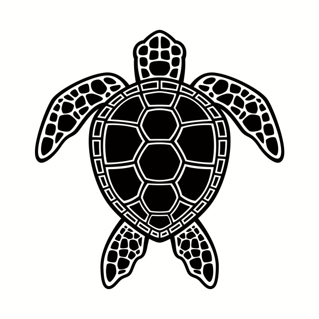 Green Sea Turtle Design Black Sea Turtle T Shirt Teepublic