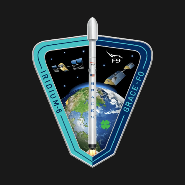 Iridium 6 Launch Team Logo