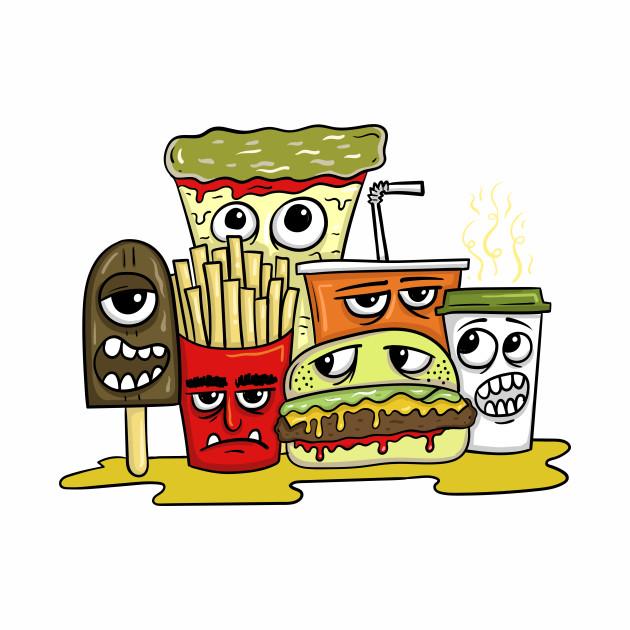 Fast food monster