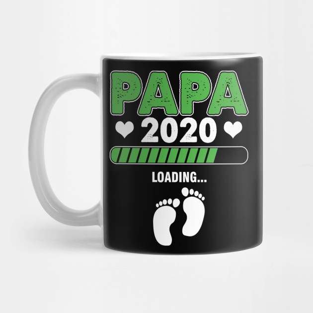 Papa 2020 Father To Be Fathers Day Gift Mug
