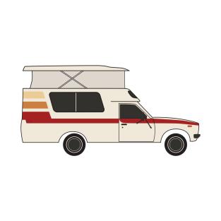 Retro Chinook Camper T Shirt