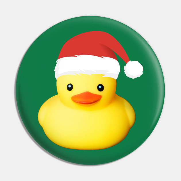 Cute Yellow Rubber Duck Santa Claus Christmas Family Costume