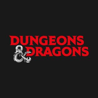 Dungeons & Dragons Logo t-shirts