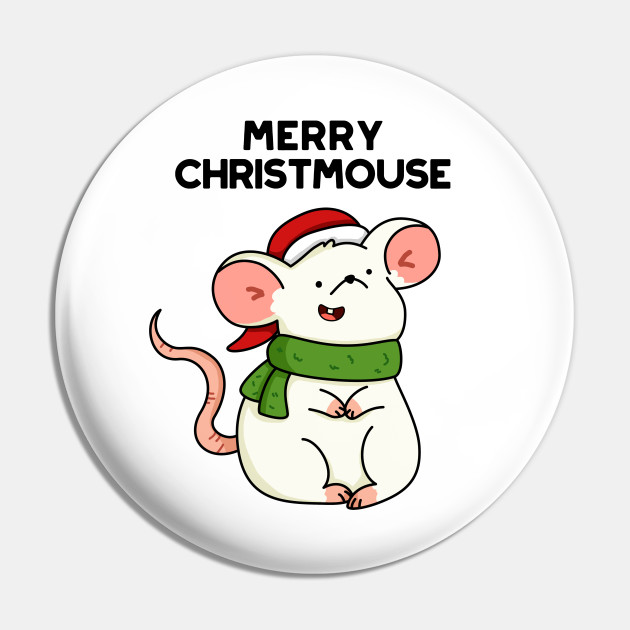 Christmas Mouse.Christmouse Cute Christmas Mouse Pun