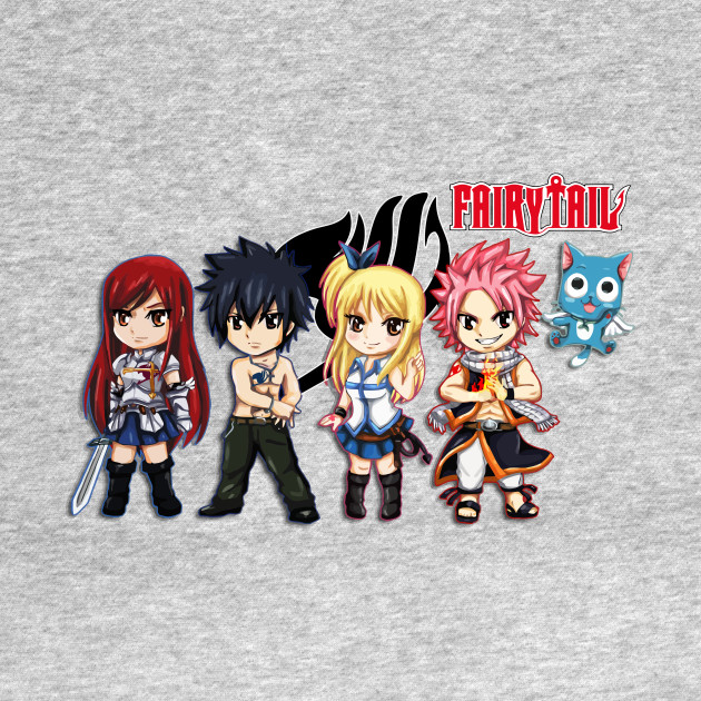 The Group of Fairy Tail Anime