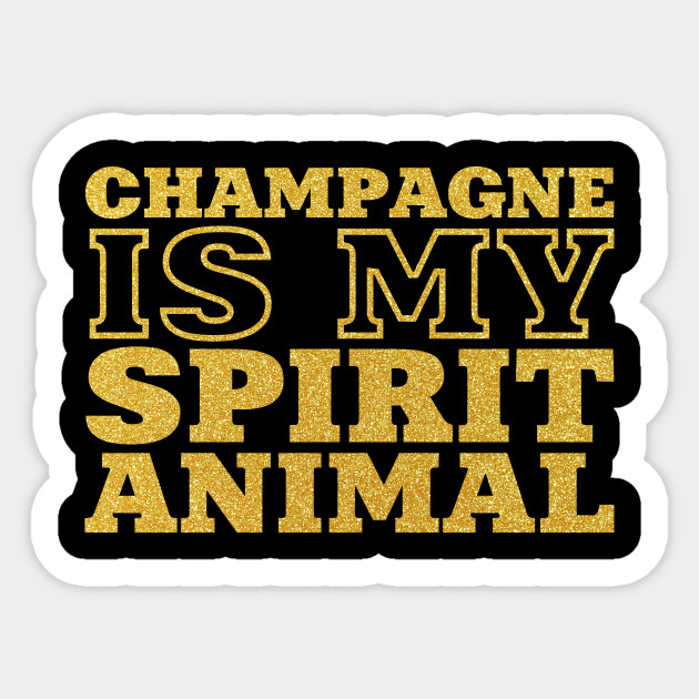 champagne is my spirit animal Triblend Ladies V,neck T,shirt women fashion  funny fashion quotes saying party drinking cute graphic sassy