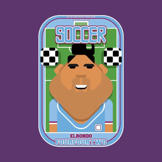 Soccer/Football Sky Blue - Elrondo Fourfourtwo - Seba version