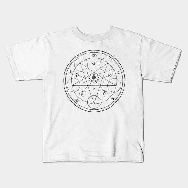 The Eye Of The White Witch Black Magic Kids T Shirt Teepublic