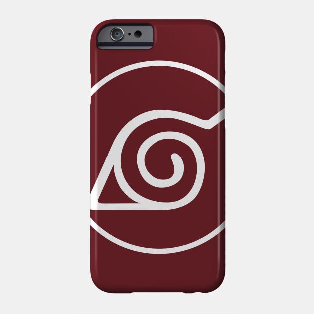 Hidden Leaf Village Symbol Naruto Phone Case Teepublic