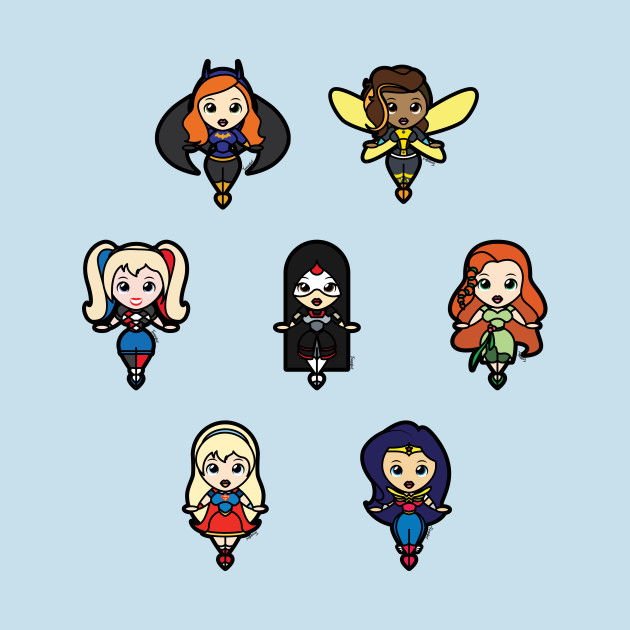 DC SuperHero Girls Tooniefied