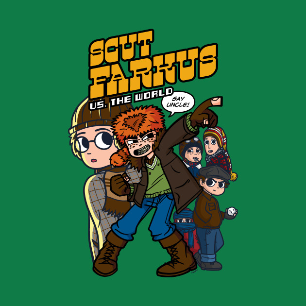 Scut Farkus vs. The World