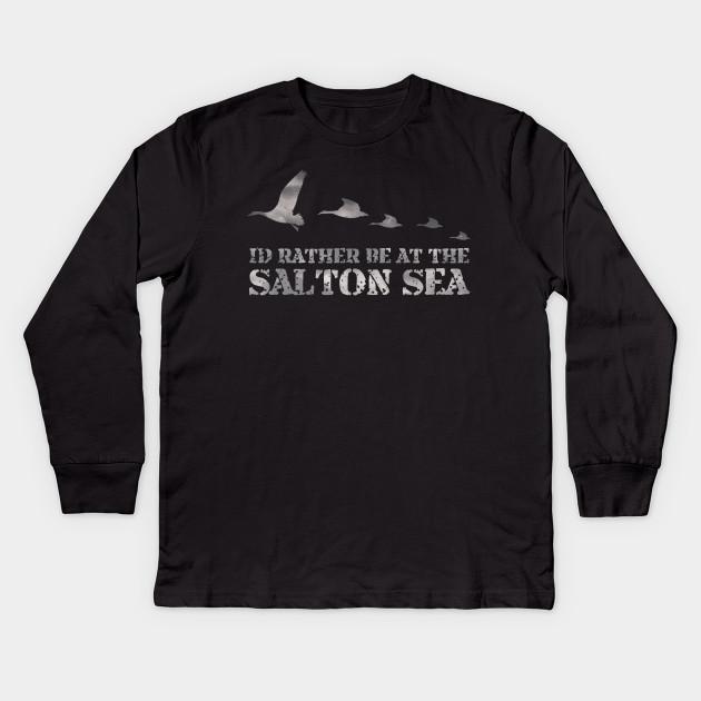 302c714e3 Salton Sea Duck Hunting Shirt - Salton Sea - Kids Long Sleeve T ...