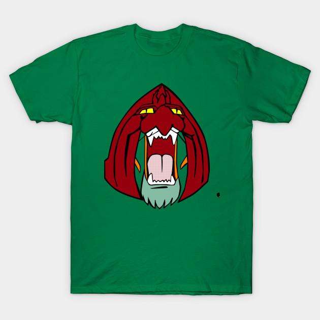 The Face Of Battle Cat Castle Grayskull T Shirt Teepublic