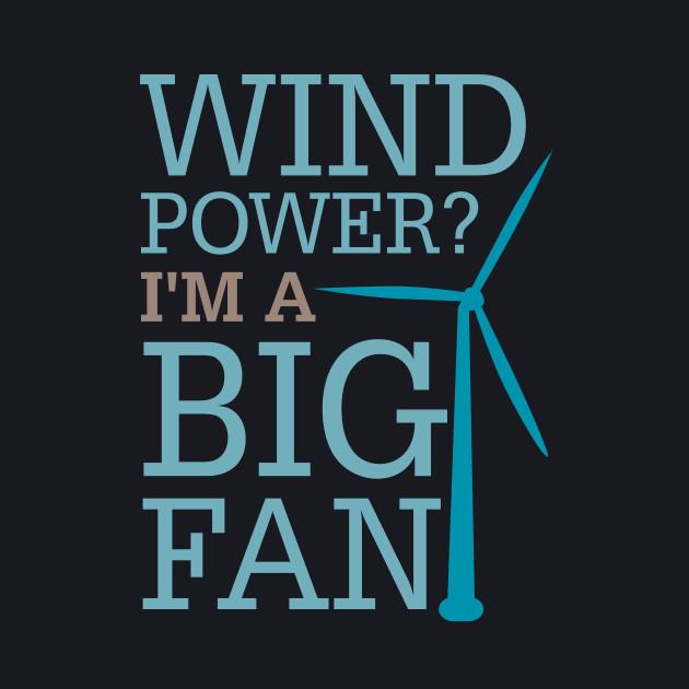 Wind Power Big Fan