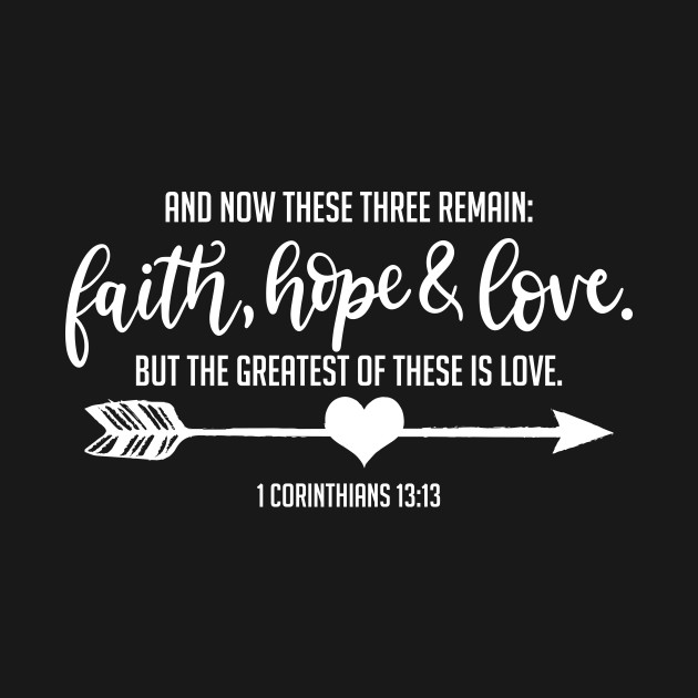 Image result for faith hope and love verse