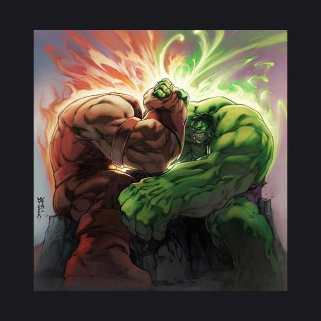 Jug vs hulk