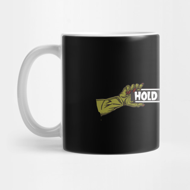 Halloween's Hold On Devil Mug
