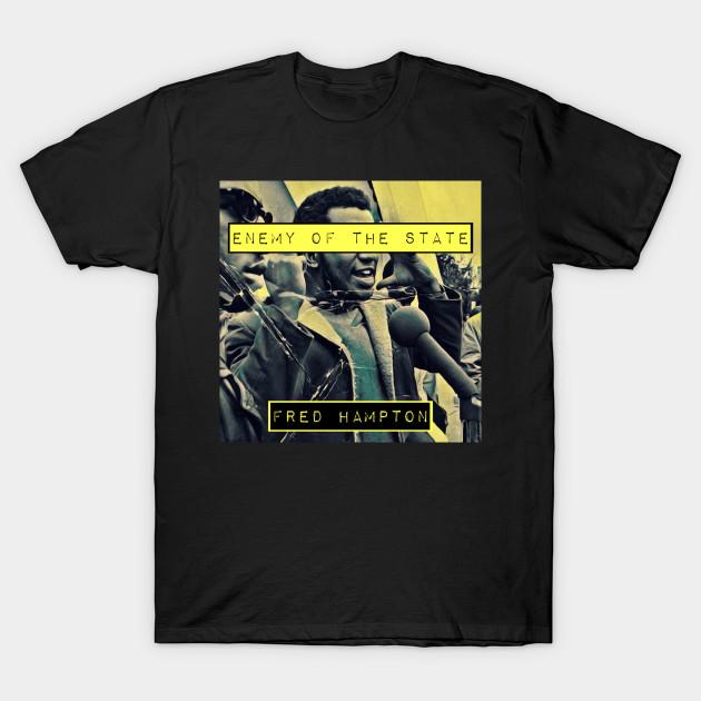 Fred Hampton T shirt; Black Panther Activist Fred Hampton Tee Shirt