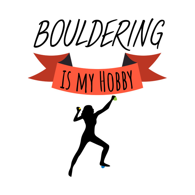 Bouldering is my hobby wommen