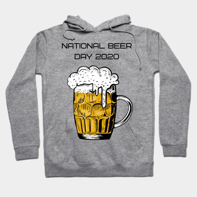 National Beer Day Celebration Festival Adult /& Kids Hoodie Happy Beerday Hoodie