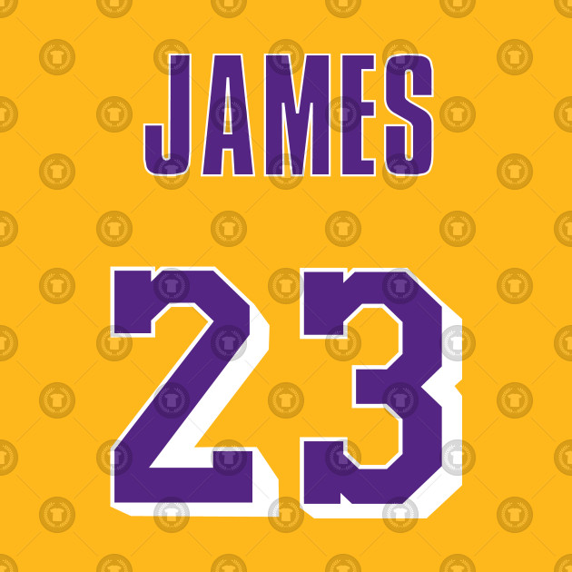 pretty nice 31898 8762b LeBron James Throwback Lakers Jersey 1