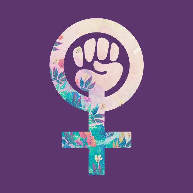 Feminist Raised Fist