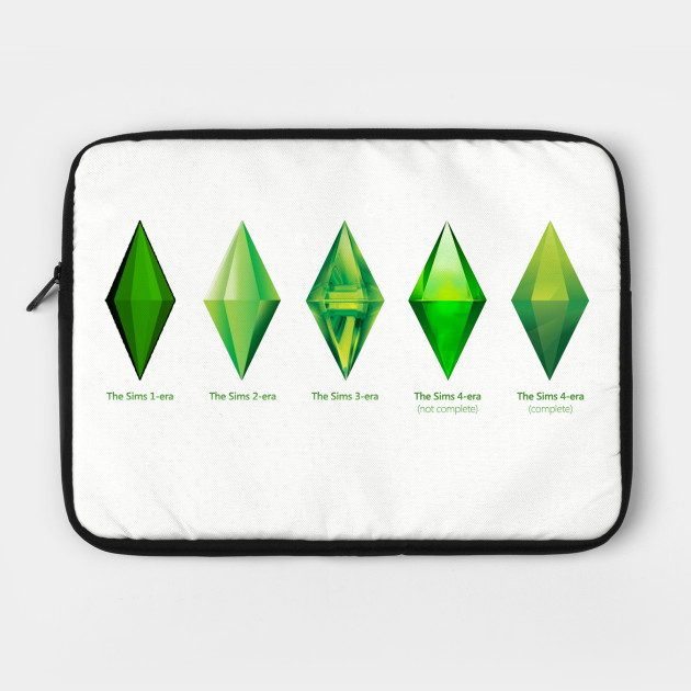 Evolution of the PlumBob by floralmoondesigns