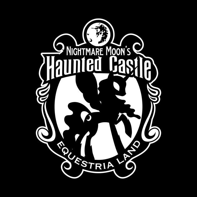 Nightmare Moon's Haunted Castle Logo Shield
