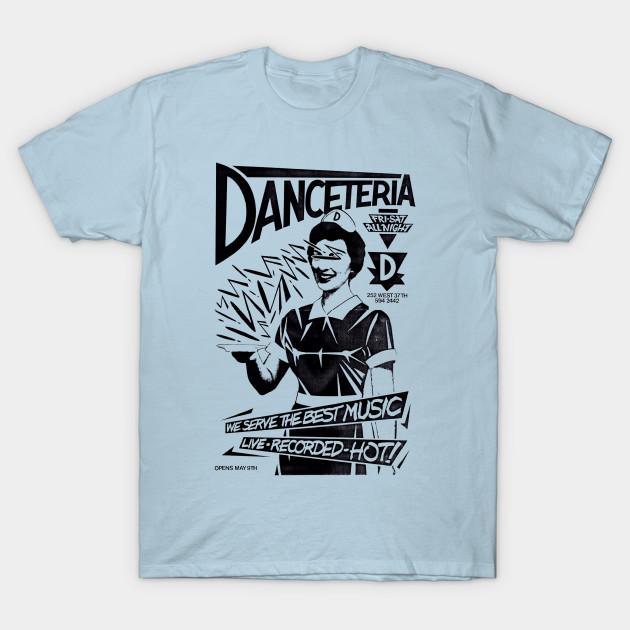 Danceteria - Nyc - T-Shirt  6149a1c525d
