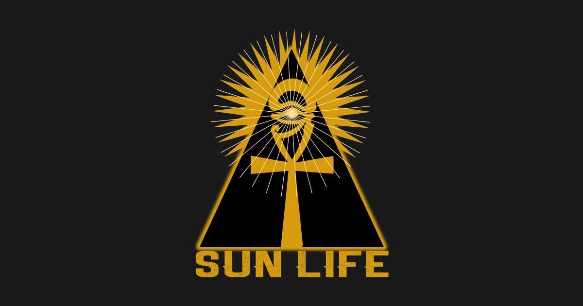 Ancient Egyptian Kemet Design Sun Life by areeya