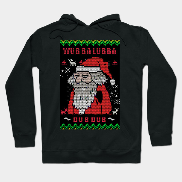 Rick And Morty Ugly Christmas Sweater.Rick And Morty Ugly Christmas Sweater