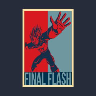 Final Flash t-shirts