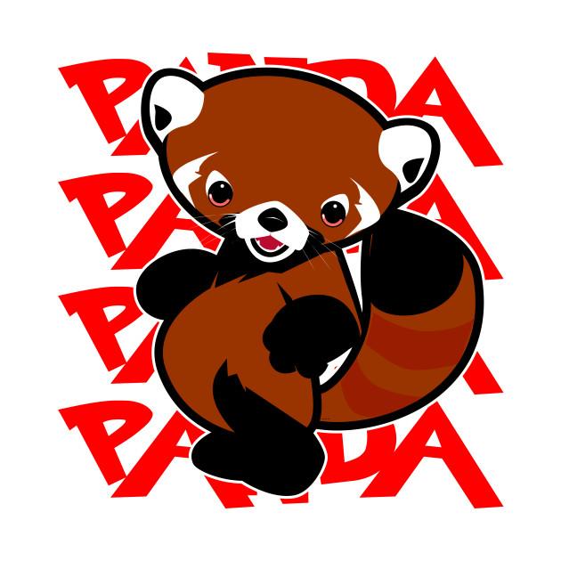Red Tail Panda Panda Panda