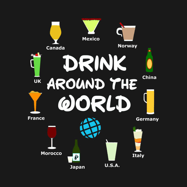 Image result for drinking around the world epcot