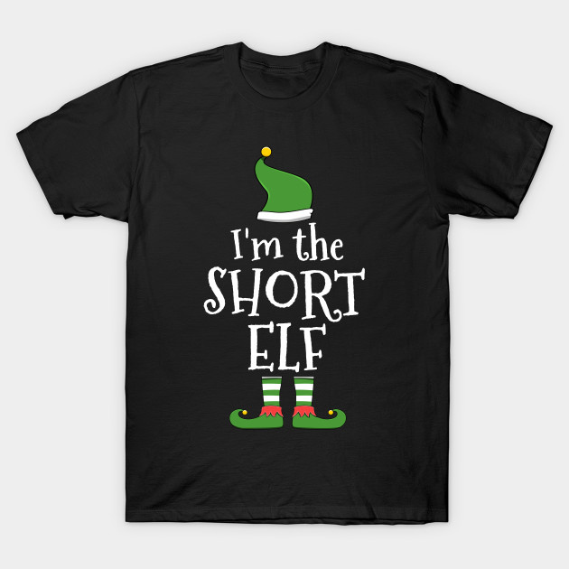 Short Elf for Matching Family Christmas Group