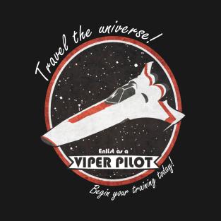 Enlist as a Viper Pilot t-shirts