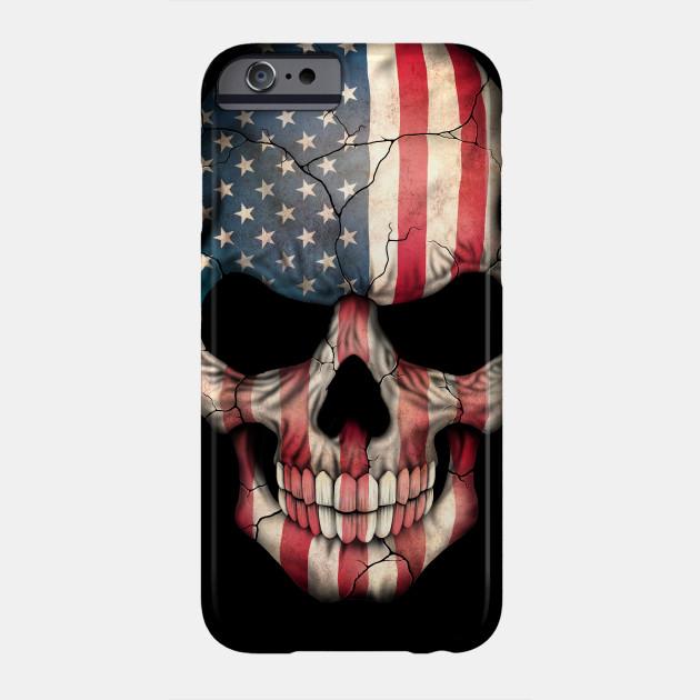 best service ab851 0200f American Flag Skull