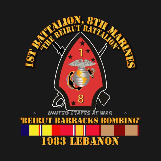 1st Bn, 8th Marines - Beirut barracks bombing w SVC