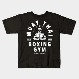 THAI KICK BOXING MMA gym train NEW xmas birthday gift ideas boys girls T SHIRT