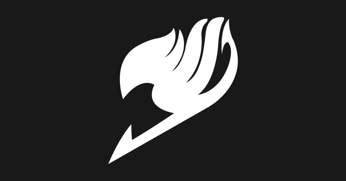 Fairy Tail Logo - White - Fairy Tail - T-Shirt | TeePublic