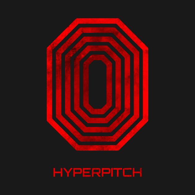 HYPERpitch Grunge Logo