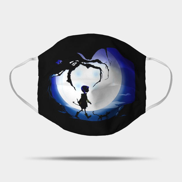 Coraline Coraline Movie Mask Teepublic Au