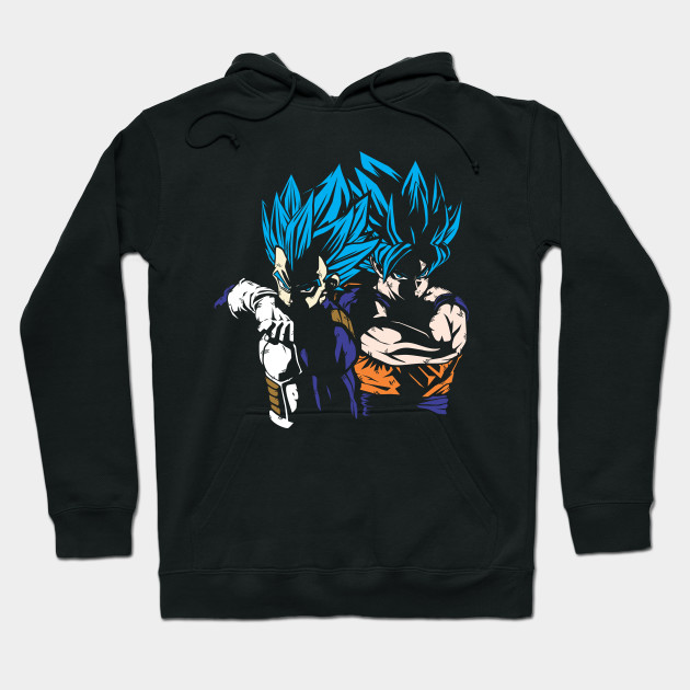 GOKU VEGETA SUPER SAIYAN BLUE