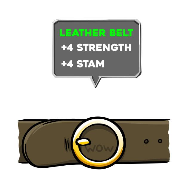 4 Strength 4 Stam Belt Shirt