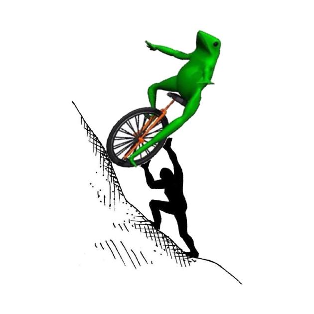 Dat Boi Sisyphus - One Must Imagine Dat Boi Happy