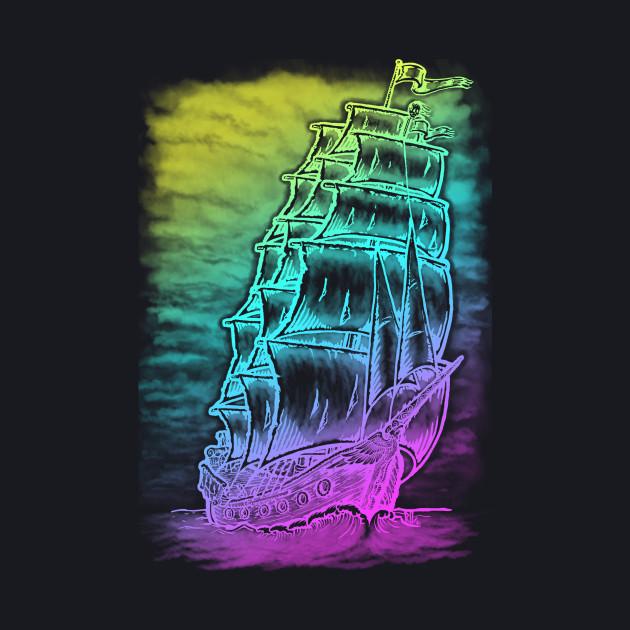 Caleuche Ghost Pirate Ship - Color